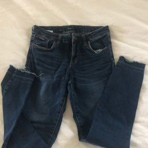 Raw edge STS jeans